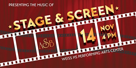 ASB November Concert at Weiss HS Performing Arts Center tickets