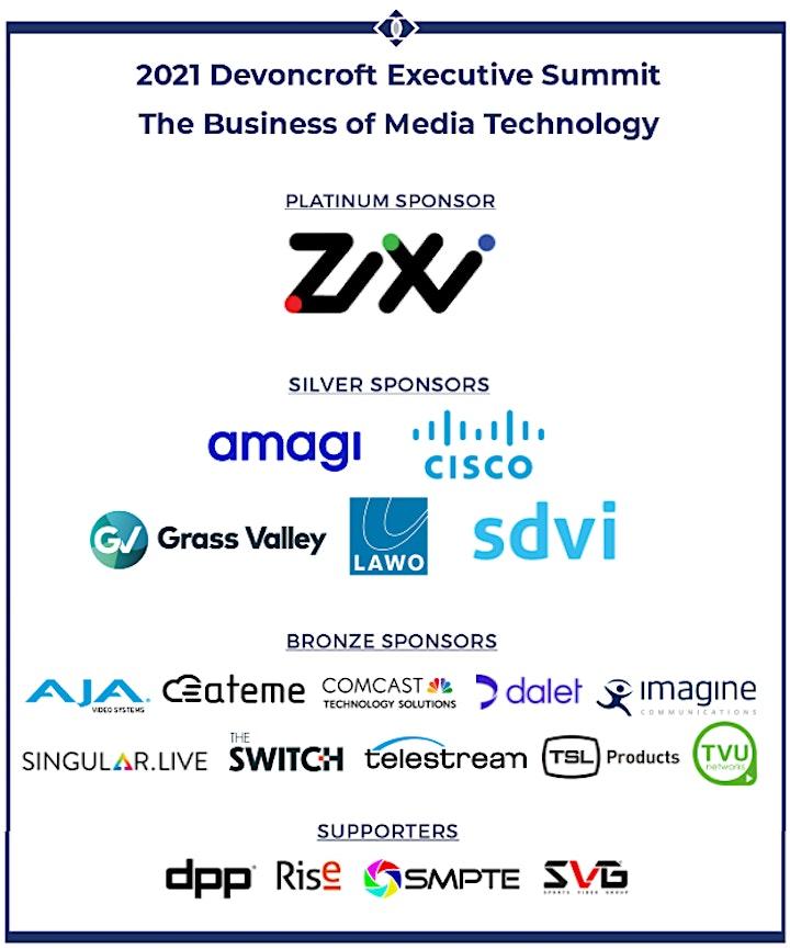 November 2021 Devoncroft Executive Summit: The Business of Media Technology image