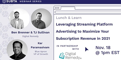 Leveraging Streaming Platform Advertising to Maximize Your Revenue in 2021 tickets