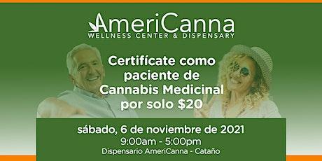 AMERICANNA: Certificación de Pacientes de CM (sábado, 6 de noviembre 2021) entradas