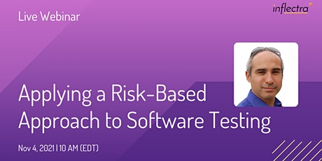 Risk-Based Approach to Software Testing tickets