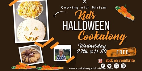 Free Halloween Cookalong by Cooking with Miriam tickets