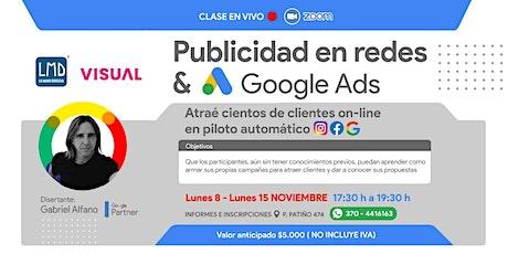 PUBLICIDAD EN REDES & GOOGLE ADS Tickets