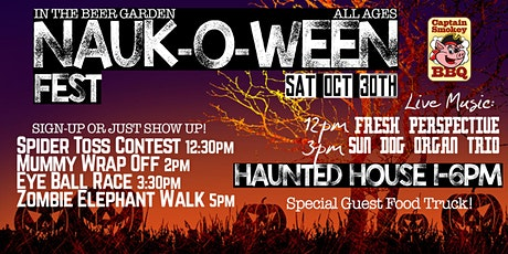 Nauk-O-Ween Fest! SAT 10/30 | Haunted House, Games, BBQ, Live Music... tickets