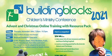 Building Blocks Children's & Family Ministry Advent & Christmas Training tickets