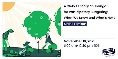 A Global Theory of Change for Participatory Budgeting tickets