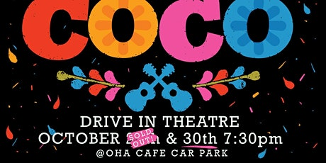 Drive in Movie Night at Oha Cafe - SATURDAY 30 Oct tickets