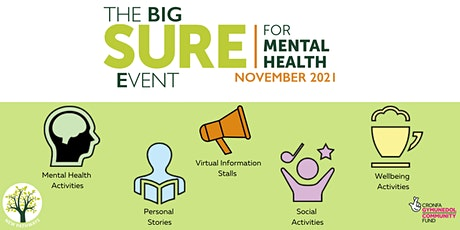 The BIG SURE for Mental Health Event - Writing for Wellbeing tickets