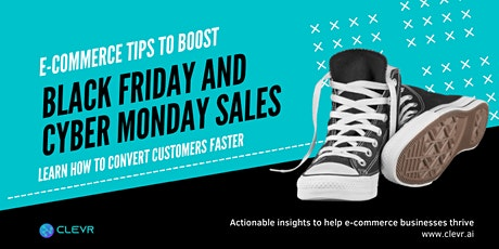 E-Commerce Marketing Tips to Boost Black Friday and Cyber Monday Sales tickets