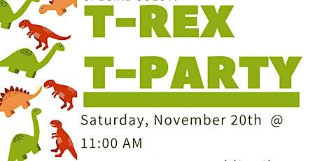 DiNovember T-Rex T-Party tickets