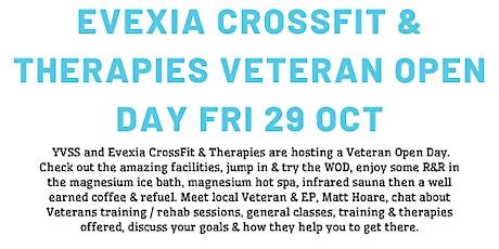 YVSS / Evexia CrossFit & Therapies Veteran Open Day fri 29 oct tickets
