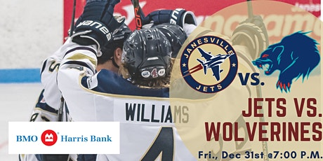 NEW YEARS EVE! Fri Dec 31st Jets vs. Anchorage Wolverines (G31) tickets