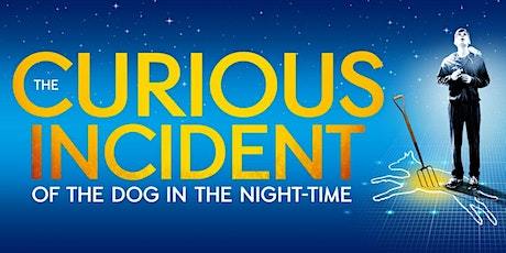 """Grand Arts Presents """"The Curious Incident of the Dog in the Night-Time"""" tickets"""