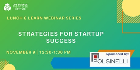 Strategies for StartUps tickets