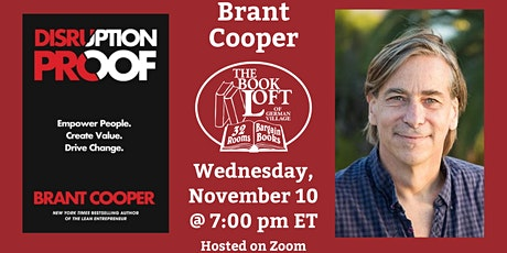 Virtual Event with Brant Cooper, Author of Disruption Proof tickets