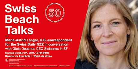 Swiss Beach Talks - Meet Marie-Astrid Langer tickets