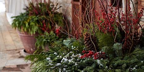 Designing Winter Planters tickets