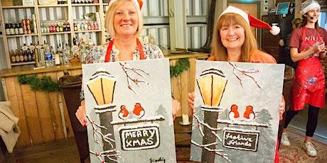 Festive Friends Brush Party - Tetbury tickets