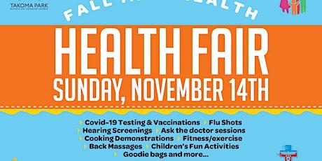Takoma Park SDA Church Health Fair tickets