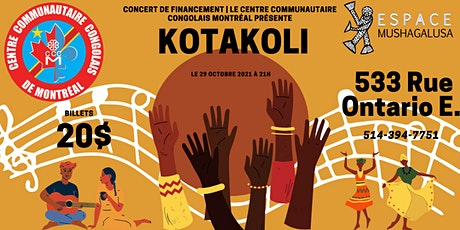 Concert de financement pour le Centre communautaire Congolais de Montréal billets