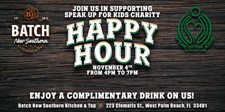 Speak Up For Kids Charity Happy Hour tickets