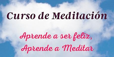 Curso de Meditación en línea (Español) boletos