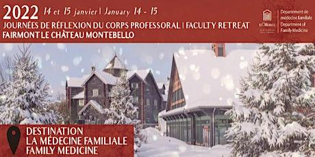 Journées de réflexion du corps professoral du DMF 2022 DFM Faculty Retreat tickets