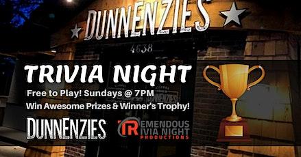Sunday Night Trivia at DunnEnzies Kelowna-Mission! tickets