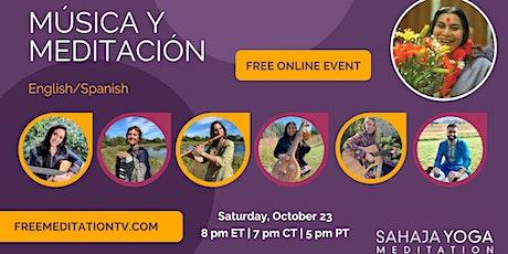 Music & Meditation Live Event tickets