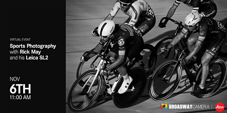 [Leica Virtual Event] Sports Photography with Rick May and his LEICA SL2 tickets