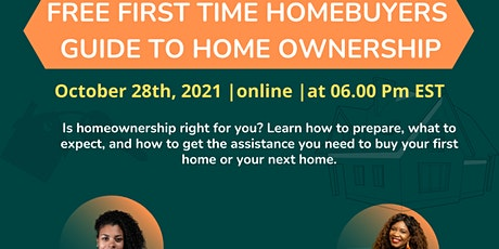 FIRST TIME HOME BUYER - UNDERSTAND THE PURCHASE PROCESS tickets
