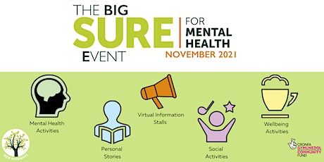 The BIG SURE for Mental Health Event - Qigong tickets