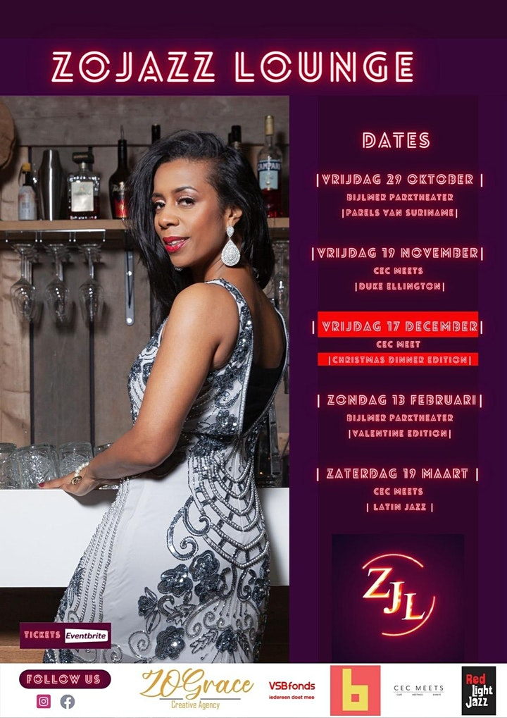 Afbeelding van ZOJazz Lounge   Christmas Dinner ft. Yvette de Bie & Franklin Brown