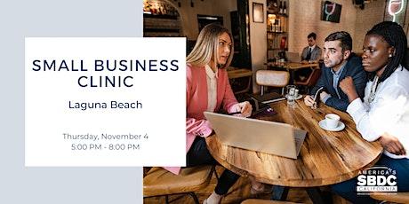 Small Business Clinic - Laguna Beach tickets