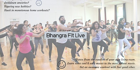 Bhangra Fit Online - Tuesday evening sessions tickets