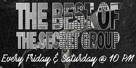 The Best of The Secret Group Comedy Showcase tickets