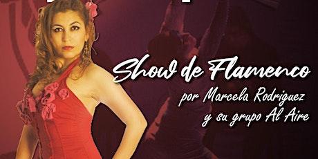 Show-Cena Flamenco por Marcela Rodriguez y su grupo Al'Aire Flamenco entradas