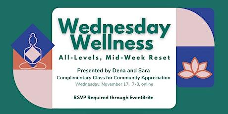 Wednesday Wellness tickets