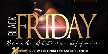 """Black Friday """"All Black Affair"""" V tickets"""