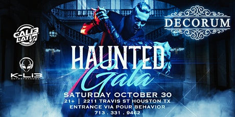 Decorum Presents The Haunted Gala tickets