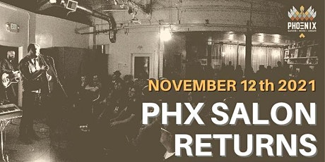 PHX SALON (2nd Friday) Live Music, Art & Poetry tickets