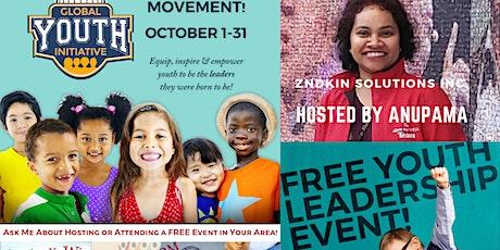 Global Youth Initiative (GYI) event by Anupama_ZNDKIN tickets