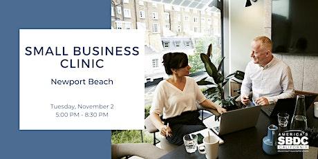 Small Business Clinic - Newport Beach tickets