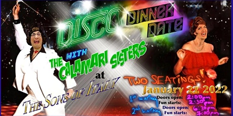 The Calamari Sisters' Disco Date - Boston tickets