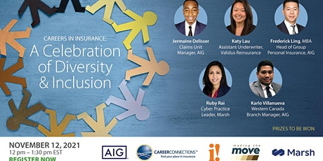 Careers in Insurance: A Celebration of Diversity and Inclusion boletos