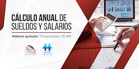 Cálculo Anual de sueldos y salarios en CONTPAQi® NÓMINAS entradas
