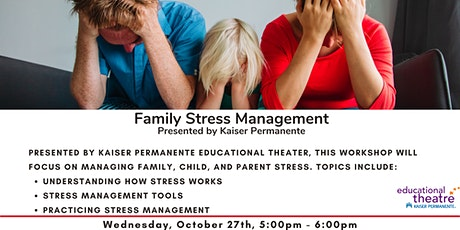 Family Stress Management Workshop tickets