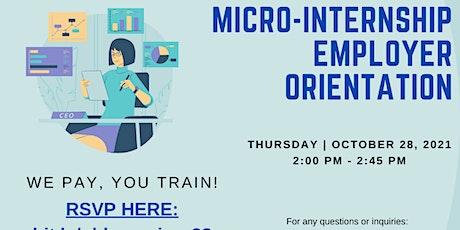 Micro-Internship Orientation biglietti