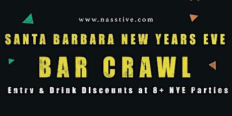 New Years Eve 2021 Santa Barbara Bar Crawl - All Access Pass to 8+ Venues tickets
