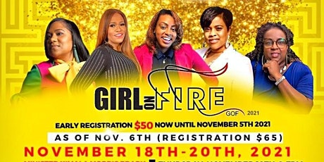 Girl On Fire Outreach Ministries 2021 Women's Conference tickets